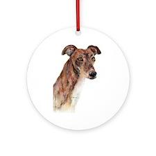 Greyhound #1 Keepsake (Round)