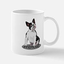 Frenchie the bulldog Mugs