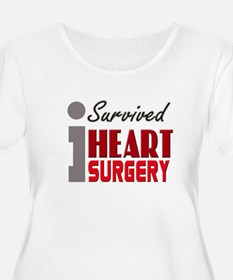 isurvived-heartsurgery Plus Size T-Shirt