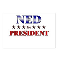 NED for president Postcards (Package of 8)