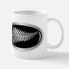 New Zealand Silver Fern Button Mugs