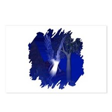 Iridescent Angel Postcards (Package of 8)