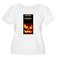 """Women's Plus Size T-Shirt """"Pumpkin Smuggler"""""""
