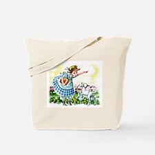 Mary's Lamb Tote Bag