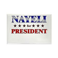 NAYELI for president Rectangle Magnet
