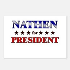 NATHEN for president Postcards (Package of 8)
