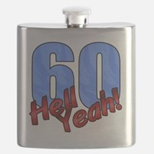 Funny 60th Flask