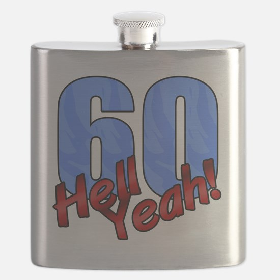 Cute Over hill Flask