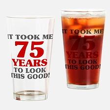 Unique 75 Drinking Glass