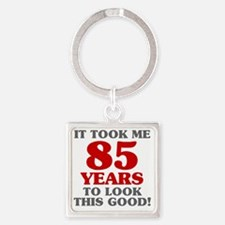 Unique 30 year old birthday Square Keychain