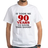 Dads 90th Mens White T-shirts