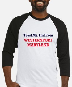 Trust Me, I'm from Westernport Mar Baseball Jersey