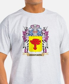 Chaperon Coat of Arms (Family Crest) T-Shirt