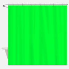 Light Green Shower Curtain