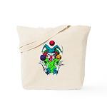 Evil Juggling Jester Clown Tote Bag