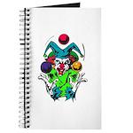 Evil Juggling Jester Clown Journal