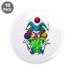 Evil Juggling Jester Clown 3.5