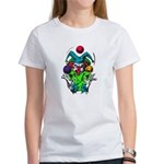 Evil Juggling Jester Clown Women's T-Shirt