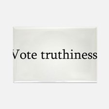 Vote truthiness. Rectangle Magnet
