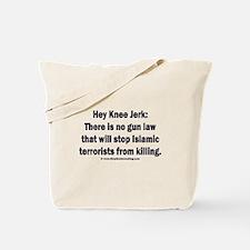 No gun law Tote Bag