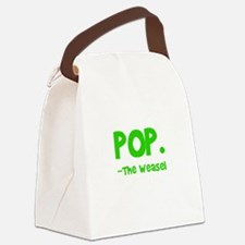 Pop Goes The Weasel Canvas Lunch Bag