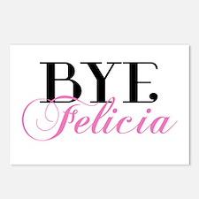 BYE Felicia Sassy Slang Humor Postcards (Package o