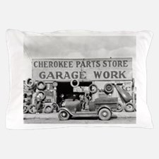 Cherokee Parts Store Vintage Garage Pillow Case