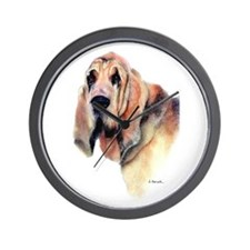 Bloodhound Gifts Wall Clock