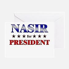 Cute Nasir Greeting Card