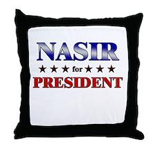 Unique Nasir Throw Pillow