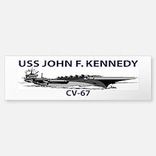 USS JOHN F. KENNEDY CV-67 Bumper Bumper Bumper Sticker