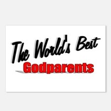 """""""The World's Best Godparents"""" Postcards (Package o"""