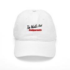 """The World's Best Godparents"" Baseball Cap"
