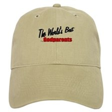"""The World's Best Godparents"" Baseball Cap"