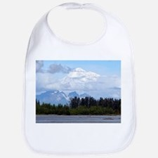 Denali, forest, river, mountains, Alaska 1 Bib