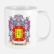 Chavez Coat of Arms (Family Crest) Mugs
