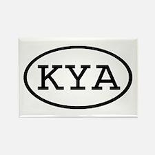 KYA Oval Rectangle Magnet