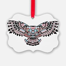 Mystic Owl in Native American Style Ornament