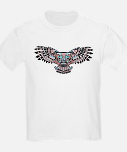 Mystic Owl in Native American Style T-Shirt
