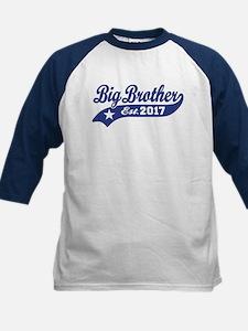 Big Brother Est. 2017 Kids Baseball Jersey