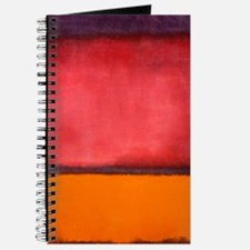 ROTHKO ORANGE RED PURPLE Journal