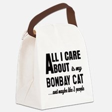 All I care about is my Bombay Canvas Lunch Bag