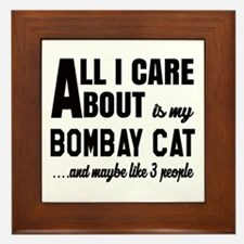 All I care about is my Bombay Framed Tile