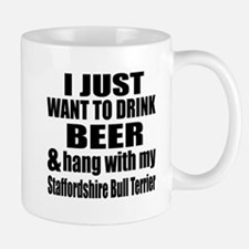 Hang With My Staffordshire Bull Terrier Mug