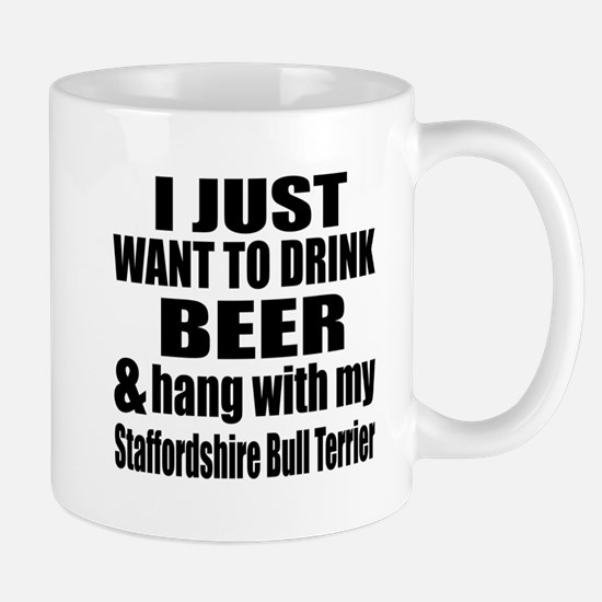 Hang With My Staffordshire Bull Terrier Mug