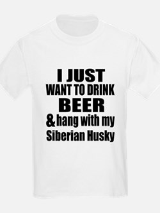 Hang With My Siberian Husky T-Shirt
