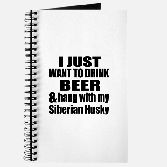 Hang With My Siberian Husky Journal