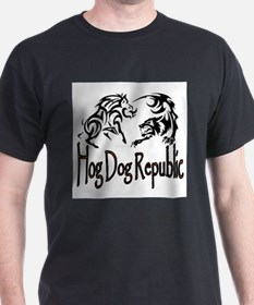 Hog Dog Republic CafePress Logo T-Shirt