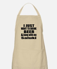 Hang With My Saluki Apron