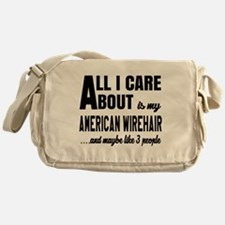 All I care about is my American Wire Messenger Bag